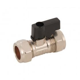 Plumbob Isolating Valve Handled 15mm - 523555