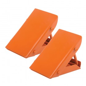 Silverline Folding Steel Wheel Chocks Pair
