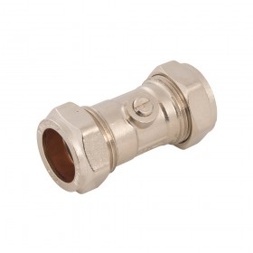 Plumbob Isolating Valve Chrome Plated 22mm - 526692