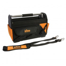 Triton Tool Bag Open Tote Hard Base 400 x 190 x 280mm