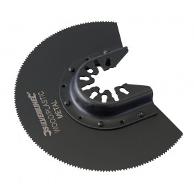 Silverline HSS Segment Saw Blade 88mm Segment
