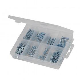 Fixman CSK Machine Screws & Nuts Pack 105pce - 558715