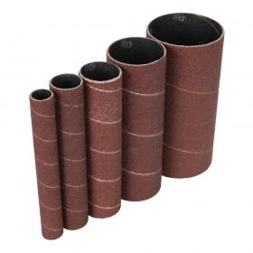 Triton Aluminium Oxide Sanding Sleeves 5pce TSPSS80G5PK 80G - 571768