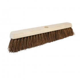 "Silverline Broom Stiff Bassine 457mm (18"")"