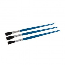 Dickie Dyer Flux Brushes 3pk Blue - 11.054