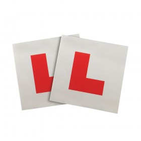 Silverline Magnetic 'L' Plates 2pce 2pce