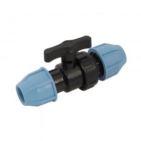 Plumbob MDPE Stopcock 20 x 20mm - 591386