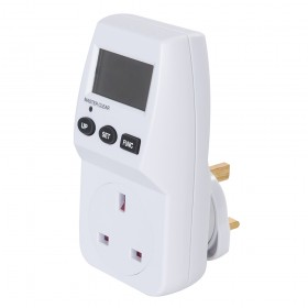 Powermaster Mains Plug-In Power Consumption Monitor UK - 13A - 629830