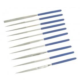 Silverline Diamond Needle File Set 10pce