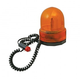 Silverline Revolving Amber Light 12V