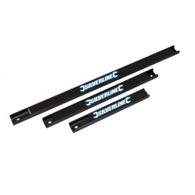 Silverline Magnetic Tool Rack Set 3pce 203, 305 & 457mm