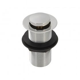 """Plumbob Spring Plug Basin Waste Unslotted 1-1/4"""" (32mm) - 639747"""
