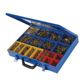 Fixman Goldstar Countersink Screws Pack 3400pce - 640485