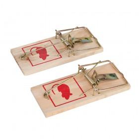 Fixman Wooden Mouse Trap 2pk 2pk