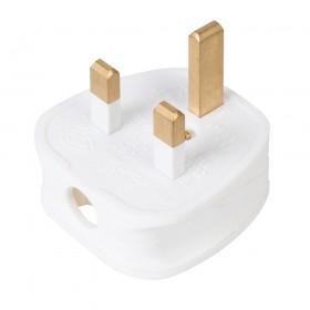 PowerMaster 13A Fused Plug 240V White - 654447