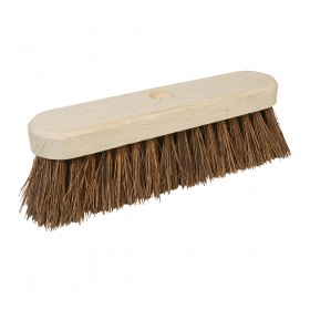 "Silverline Broom Stiff Bassine 254mm (10"")"