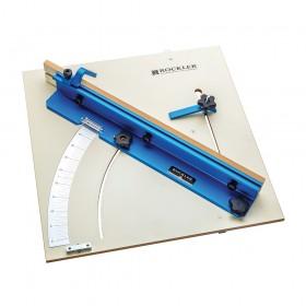 "Rockler Tablesaw Cross-Cut Sled 603 x 603mm (23-3/4"" x 23-3/4"") - 676250"