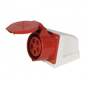 Powermaster 16A Surface-Mountable Socket 400V 5 Pin - 693983