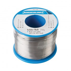 Silverline Solder Roll 250g - 701153