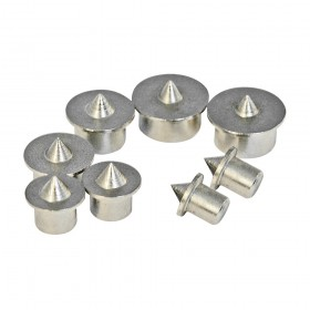 Silverline Dowel Centre Point Set 8pce 6 - 12mm
