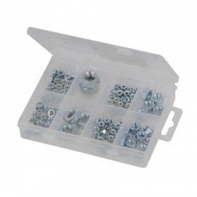Fixman Hexagon Nuts Pack 108pce - 755343