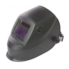 Silverline Welding Helmet Auto Darkening Variable & Grinding DIN 4/9-13EW & Grinding