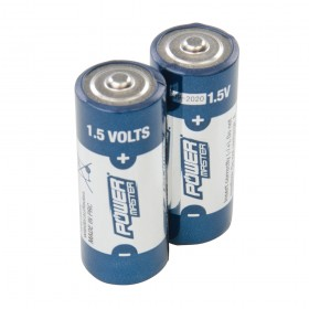 PowerMaster 1.5V Super Alkaline Battery LR1 2pk - 772254