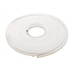 Fixman Self-Adhesive EVA Foam Gap Seal 3-8mm / 10.5m White