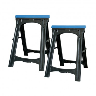 Silverline Saw Horse Twin Pack 100kg