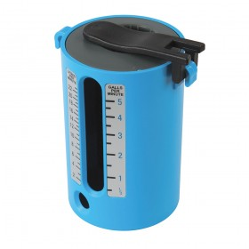 Dickie Dyer Flow Measure Cup 2.5-22Ltr / 1/2-5 Gallons - 50.124GB Greek Blue