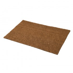 FIXMAN PVC Back-Tufted Plain Natural Mat 450 x 750mm
