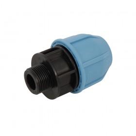"""Plumbob MDPE Male Adaptor 25mm x 3/4"""" - 830014"""