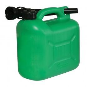 Silverline Plastic Fuel Can 5Ltr Green