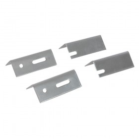 Dickie Dyer Replacement Radiator Brackets 4pk 76mm - 11.032