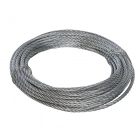Fixman Galvanised Wire Rope 6mm x 10m - 858237