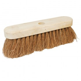 "Silverline Broom Soft Coco 254mm (10"")"