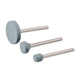 Silverline Rotary Tool Grinding Stone Set 3pce 5, 9, 20mm Dia