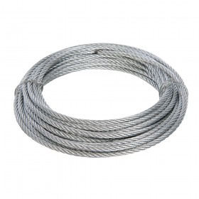 Fixman Galvanised Wire Rope 4mm x 10m - 876416