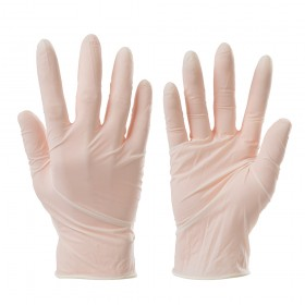Silverline Disposable Latex Gloves 100pk Medium - 909500