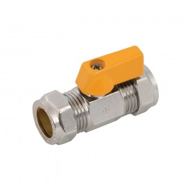 Plumbob Straight Mini Ball Valve 15mm - 921869