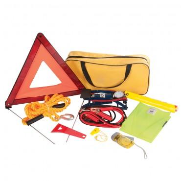 Silverline Car Emergency Kit 9pce 9pce