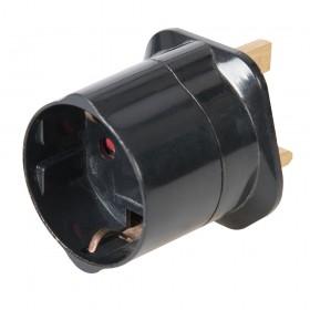 PowerMaster Schuko to UK Travel Adaptor 240V 240V - 966622