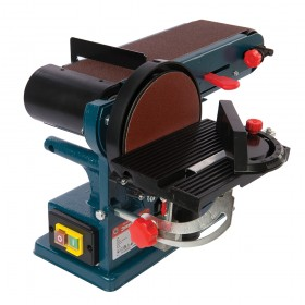 Silverline Silverstorm 350W Bench Belt & Disc Sander 390mm