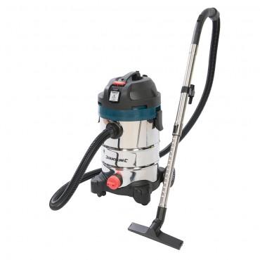 Silverline Silverstorm 1250W Wet & Dry Vacuum Cleaner 30Ltr - 974451