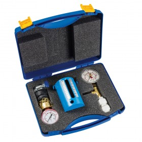Dickie Dyer Combined Flow, Wet Pressure & Dry Test Kit 2.5-22Ltr / 0-10bar / 0-4bar - 40.221