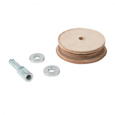 Triton Profiled Leather Honing Wheel TWSLHW Profiled Leather Honing Wheel
