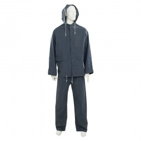 "Silverline Rain Suit Blue 2pce XXL 79 - 138cm (31 - 54"")"