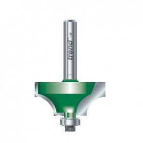 """TREND C079 1//4/"""" SHank 12.7mm Ovolo//Roundover Cutter"""