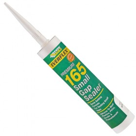 Everbuild 165 Small Gap Sealer Sealant White 300ml