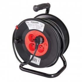 Silverline French Type E Cable Reel 230V - 197525